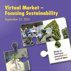 DAAD's Virtual Market – Focusing Sustainability on September 23, 2021