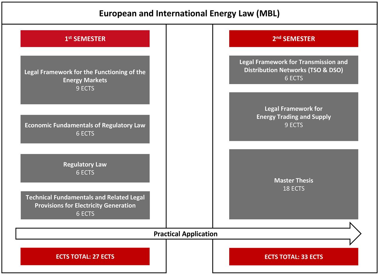 European and International Energy Law (MBL) European and International Energy Law MBL